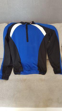 Zestaw kolarski bluza i spodnie długie
