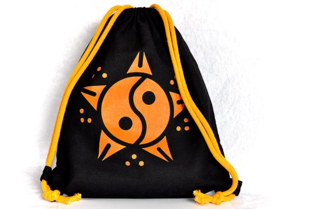 worek plecak bawełniany YIN YANG