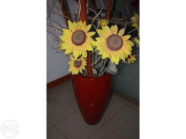 Vaso decorativo com decoração incluida