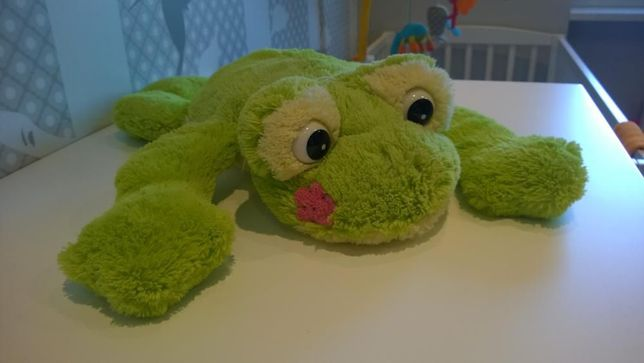 Pluszowa Żabka dla dziewczynki-idealna przyjaciółka
