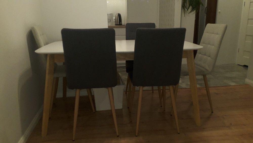 Komplet - stół z 6 krzesłami Warszawa - image 1