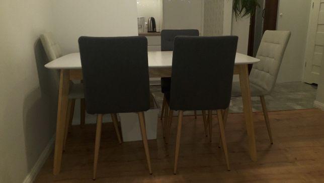Komplet - stół z 6 krzesłami