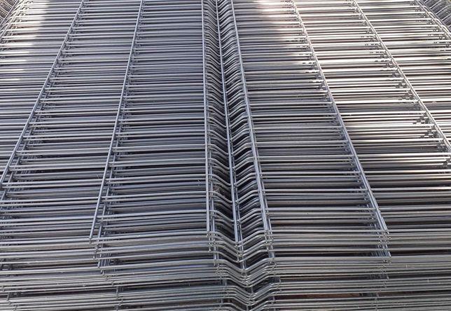 Panele CENA ZA SZTUKE ogrodzeniowe 123 cm antracyt grafitowy panel 3d
