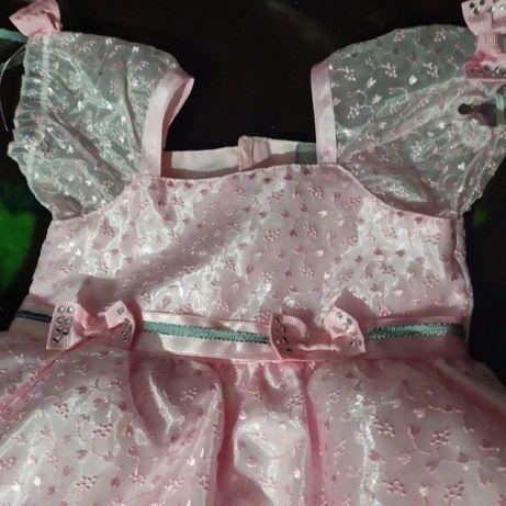 Платье на годик для маленькой принцеси