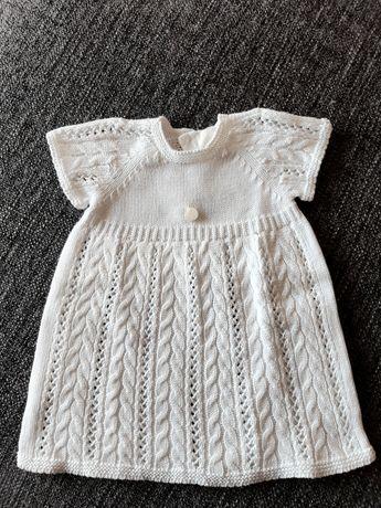 Vestido Wedoble branco - tamanho 0m