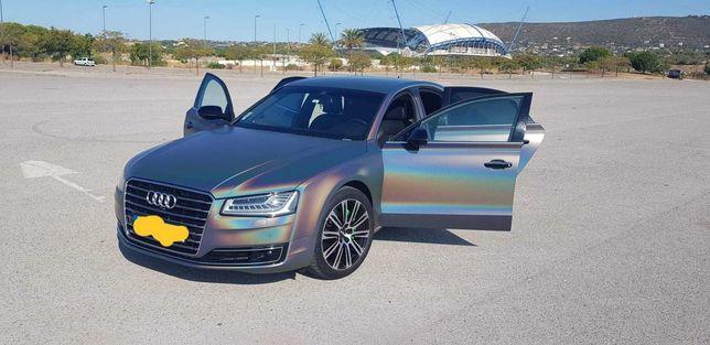 Audi A8 3.0TDI V6 Quattro Clean Diesel.aceito troca autocaravana mota
