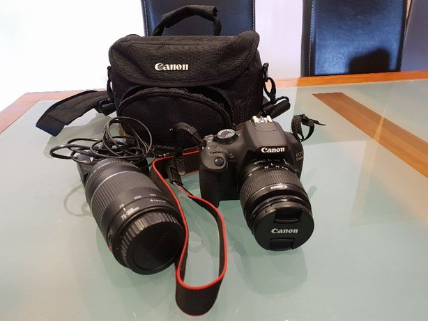 Canon EOS 1200 D C/ 2 LENTES