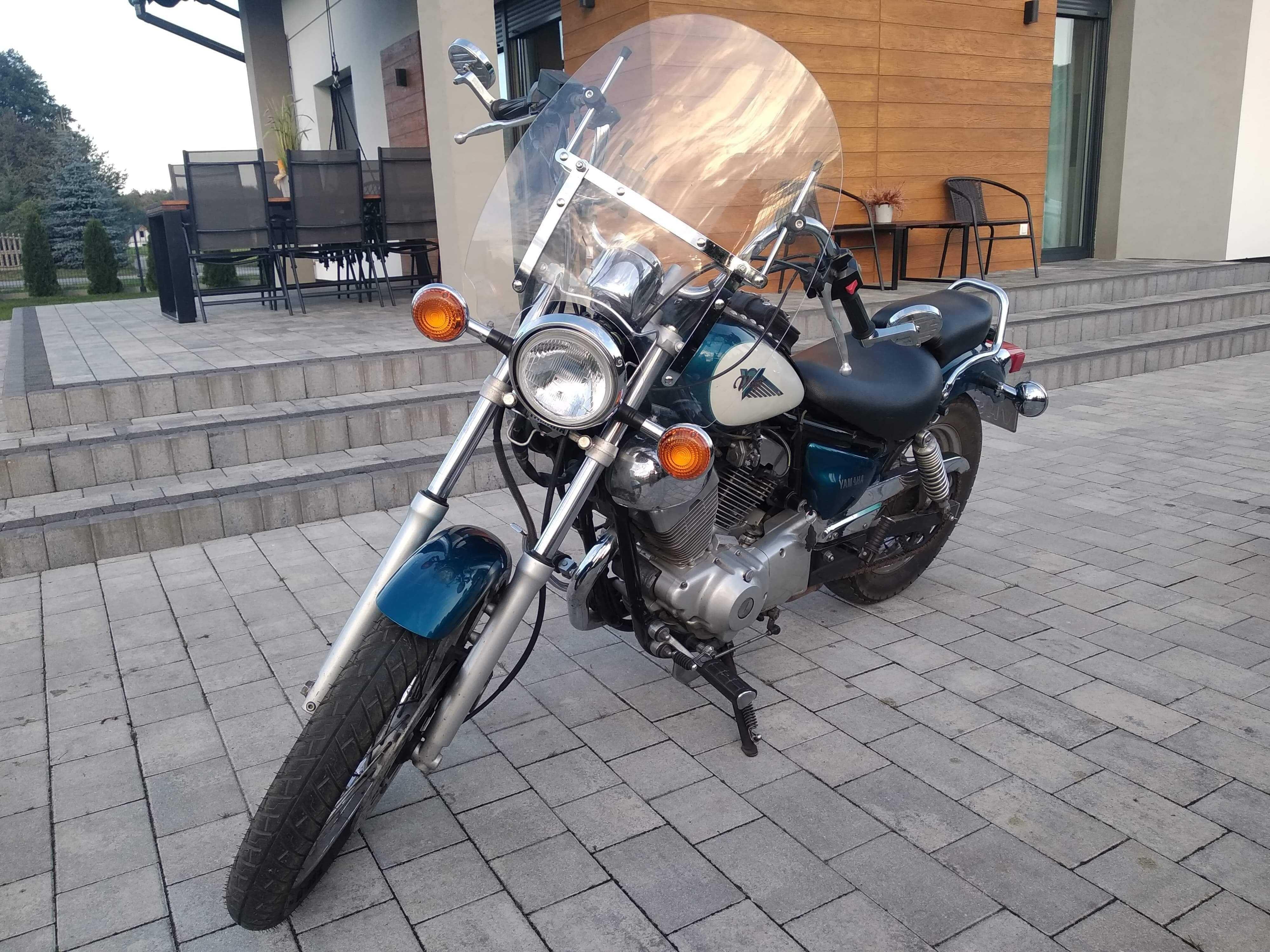 Motocykl Yamaha Virago 125