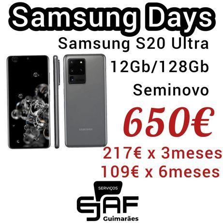 Samsung S20 ultra 5g  12/128gb Facilidade de Pagamento, temos loja
