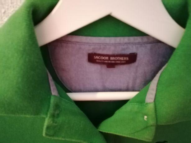Polo sacoor verde escuro