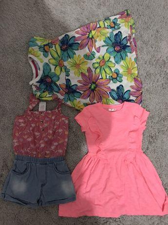 Sukienki dziewczęce rozmiar 110