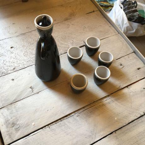 Сервиз набор стопки кувшин керамика 250 рублей