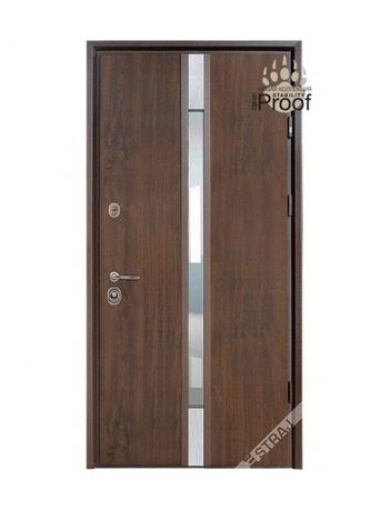 Вхідні двері Страж РИО SL горіх натуральний 87*193 ЛІВІ(вулиця)