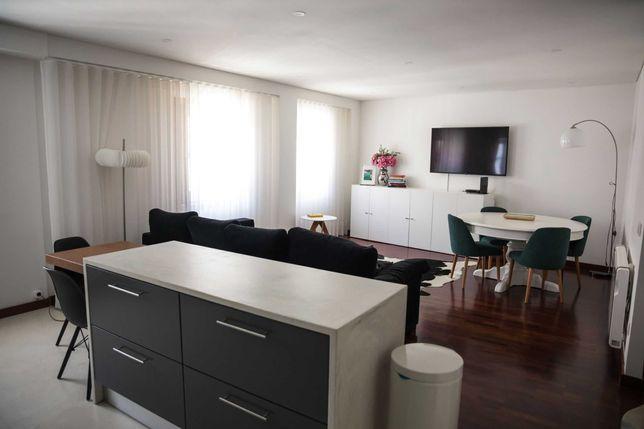 Apartamento T2 perto do Campo das Hortas em pleno centro histórico