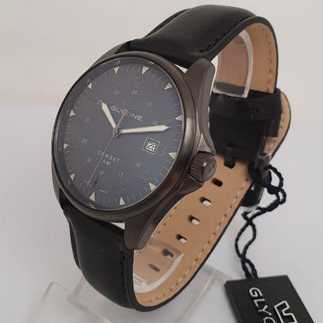 Новые Glycine Combat 6 Vintage black Automatic GL0297