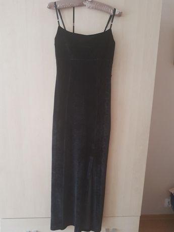 Sukienka Des Filles A La Vanille Paris cieniowany aksamit r. 36/38