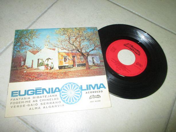 disco vinil ep Eugénia Lima acordeão