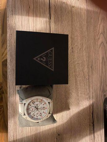 Zegarek męski Guess Biały