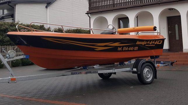 Łódź motorowa 440 łódka wędkarska
