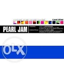 Vendo cds sinlge Pearl Jam
