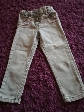 Spodnie Jeansy r. 110