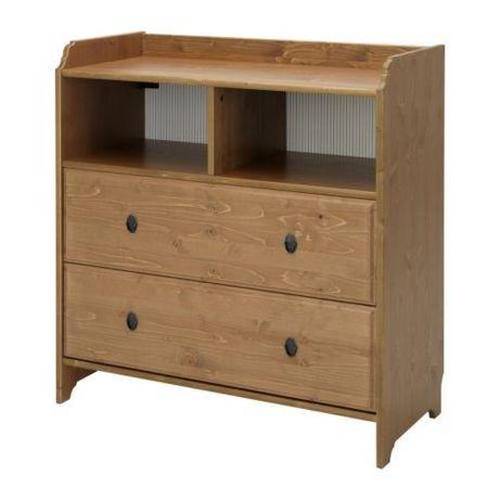 Meble dziecięce Ikea Leksvik szafa, komoda, łóżko, skrzynia, półka