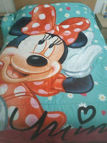 Edredão Minnie cama casal