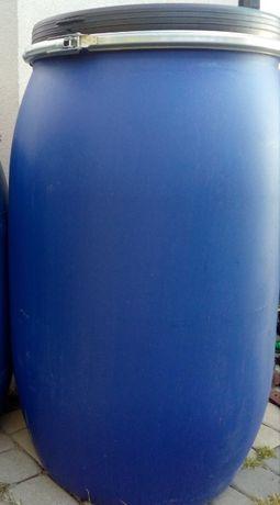 beczka 120 litrów z pokrywą