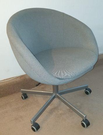 Krzesło obrotowe (ikea: SKRUVSTA) szare