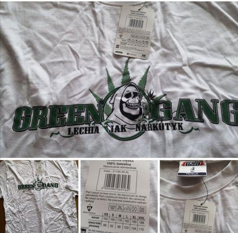 Lechia bluzka koszulka xl green gang