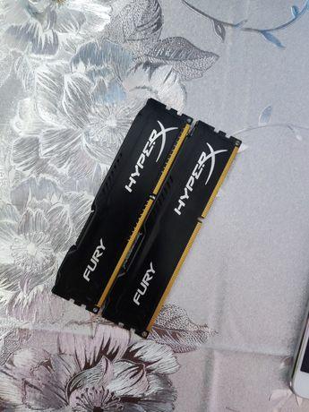 Оперативна пам'ять DDR3 2*4 Kingston hyperx
