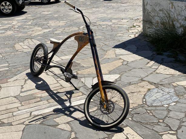 Bicicleta chopper/cruiser personalizada