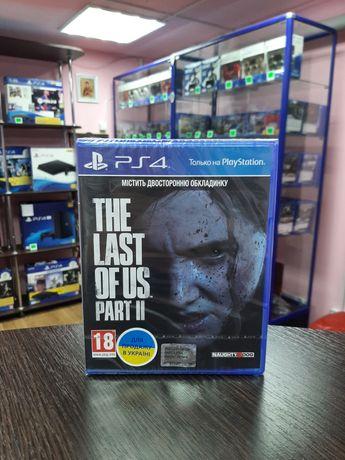 New Новый The Last of Us Part II Одни из Нас Часть 2 Обмен Магазин Ps4