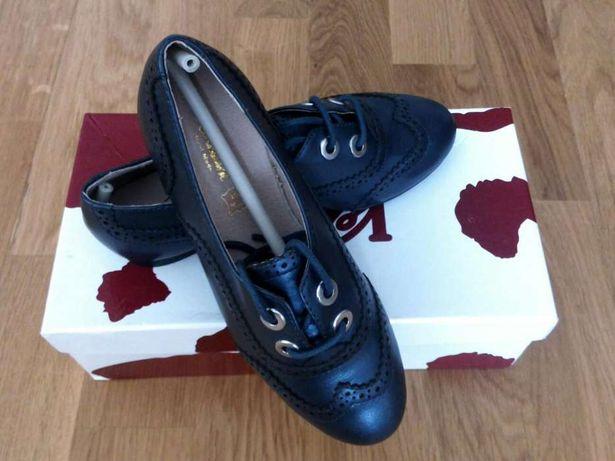 Туфли на девочку 31 размер Кожа