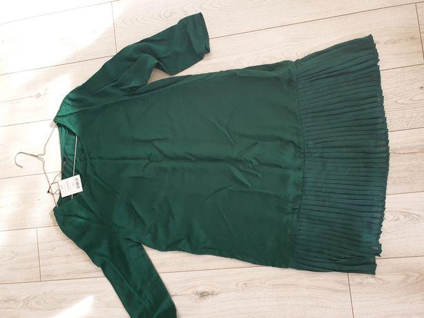 Top Secret nowa sukienka Butelkowa zieleń r 38