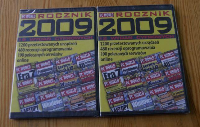PC World Rocznik 2009 Płyta DVD Nowe zapakowane w folie 2szt