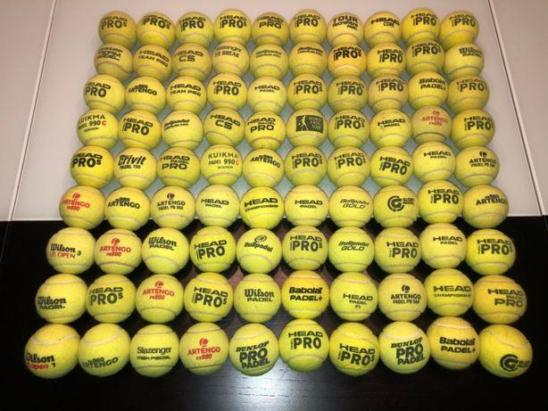 Bolas de Ténis/Padle semi-novas (Multimarcas) em EXCELENTE estado