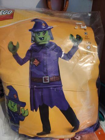 Kostium strój LEGO czarownica bal przebierańców halloween