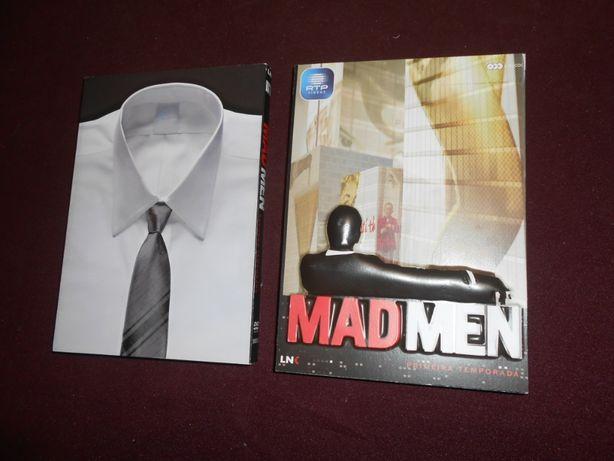 DVD-MAD MEN-Primeira e segunda temporada