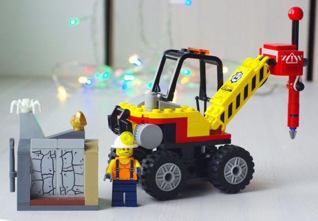 """Конструктор LEGO """"Мощный горный разделитель"""" 60185, серия City, оригин"""