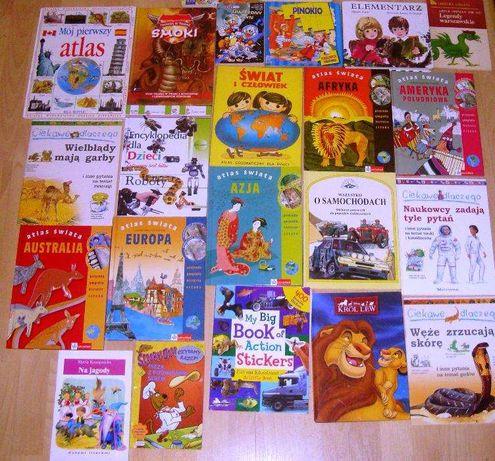 Książki dla dzieci i nie tylko.