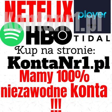 NETFLIX Spotify Player HBO GO Tidal Xiaomi | Iphone Samsung | TV Apple
