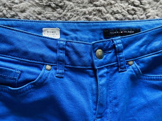 Spodnie jeansowe niebieskie Tommy Hilfiger