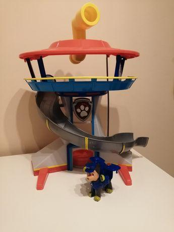 Psi patrol wieża, zjezdzalnia