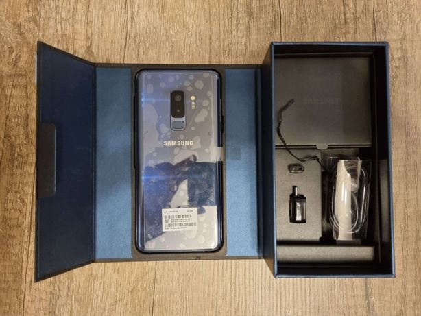 Samsung S9+ Plus ==KOMPLET==Piękny== NOWA BATERIA