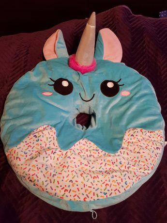 Poduszka dla dziecka ,jednorożec ,wypełniona specjalnym granulatem.