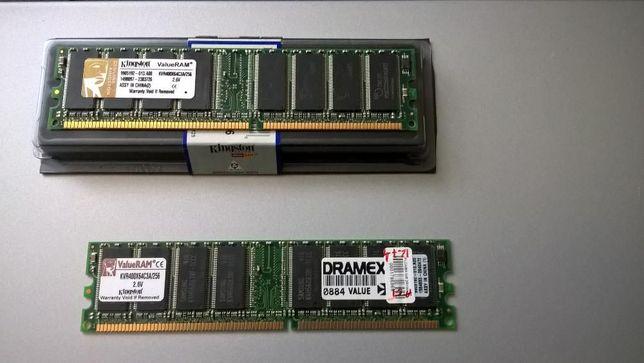 pamięć RAM DDR 256 MB /KVR400X64C3A/256 szt2.