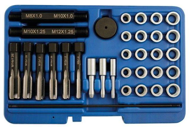 Kit de Reparação de Roscas de Velas Diesel 31pçs
