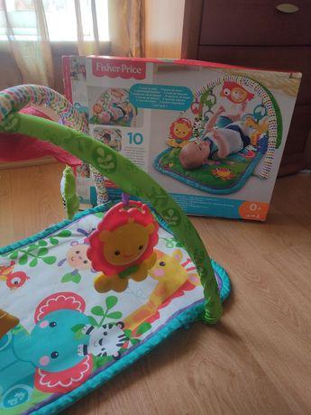 Tapete de actividades de bebé