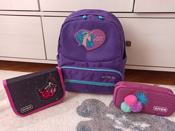 Kite Кайт рюкзак ранец школьный 1 клас единорог